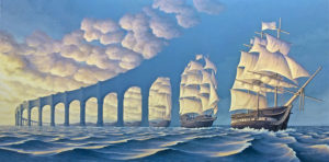 Magic Realism Paintings Rob Gonsalves 100