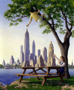 Magic Realism Paintings Rob Gonsalves 11__880