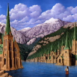 Magic Realism Paintings Rob Gonsalves 6__880