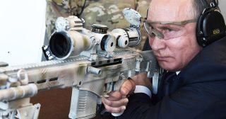 កាំភ្លើង Sniper ជំនាន់ថ្មីម៉ាក SVCh-308 រុស្សីទើបផលិតបាន លោកពូទីនសាកល្បងមុនគេ(មានវីដេអូ)