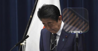 Abe says gov't will create ¥270 bil fund to fight virus spread; asks for public support